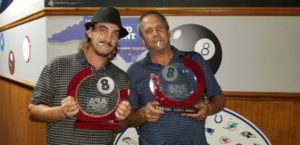 2020 8-Ball Doubles League - Session 1 Winners