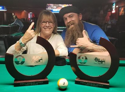 9-Ball Doubles Playoff Winners